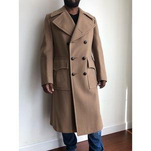 VTG Malcolm Kenneth Camel trench coat S